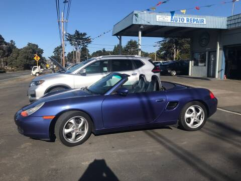 2000 Porsche Boxster for sale at HARE CREEK AUTOMOTIVE in Fort Bragg CA