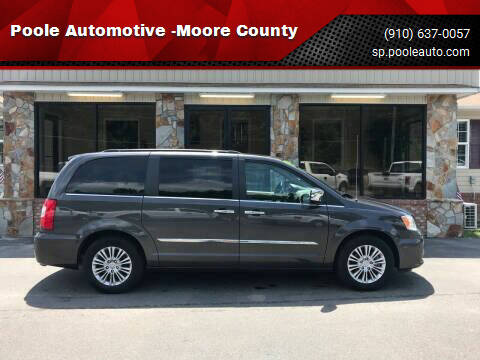 2015 Chrysler Town and Country for sale at Poole Automotive in Laurinburg NC