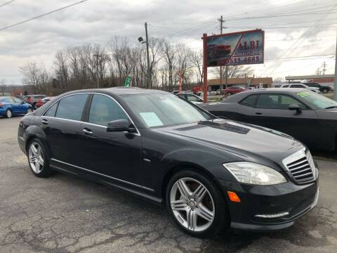2012 Mercedes-Benz S-Class for sale at Albi Auto Sales LLC in Louisville KY