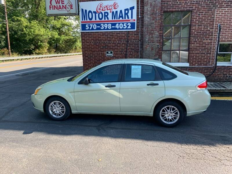2010 Ford Focus for sale at Garys Motor Mart Inc. in Jersey Shore PA