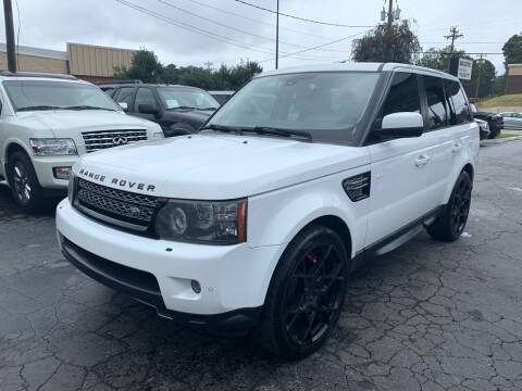 2013 Land Rover Range Rover Sport for sale at Magic Motors Inc. in Snellville GA