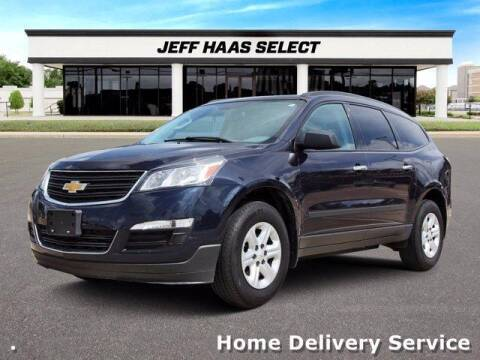 2017 Chevrolet Traverse for sale at JEFF HAAS MAZDA in Houston TX