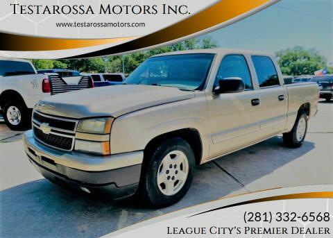 2006 Chevrolet Silverado 1500 for sale at Testarossa Motors Inc. in League City TX