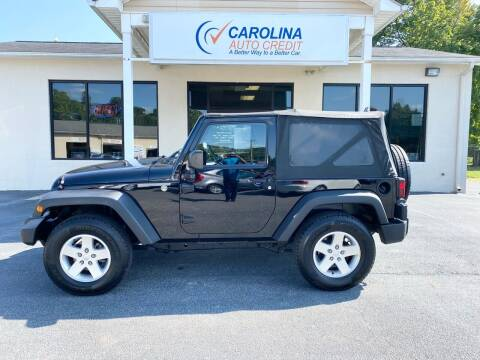 2011 Jeep Wrangler for sale at Carolina Auto Credit in Youngsville NC