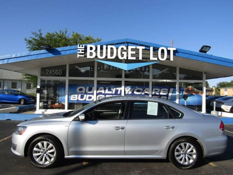 2014 Volkswagen Passat for sale at THE BUDGET LOT in Detroit MI