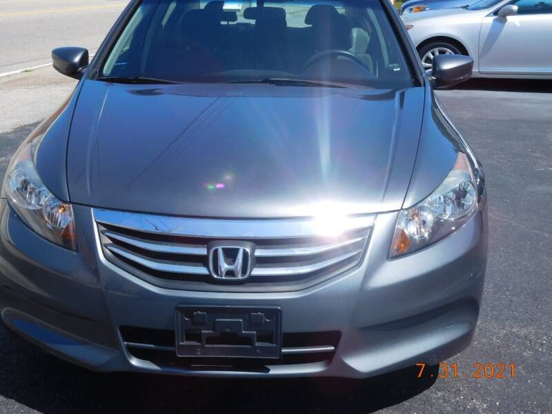 2012 Honda Accord for sale at Southbridge Street Auto Sales in Worcester MA