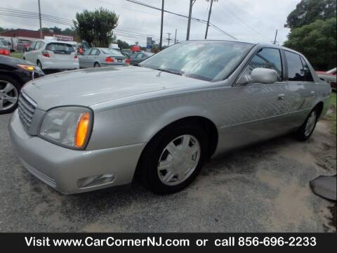 2004 Cadillac DeVille for sale at Car Corner INC in Vineland NJ