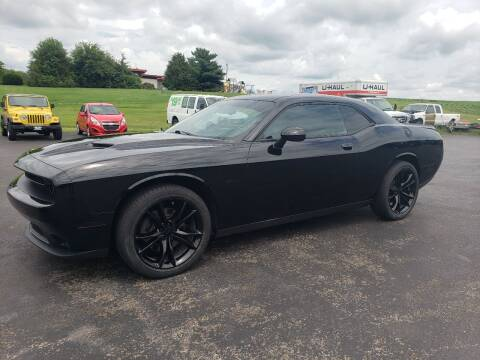 2018 Dodge Challenger for sale at Tumbleson Automotive in Kewanee IL