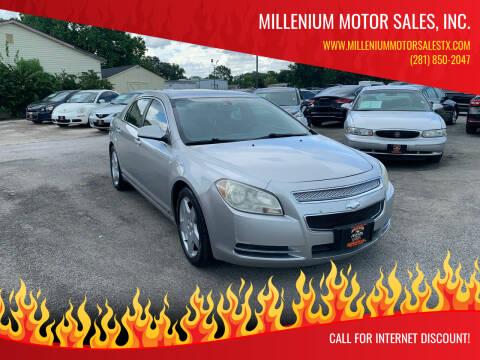2008 Chevrolet Malibu for sale at MILLENIUM MOTOR SALES, INC. in Rosenberg TX