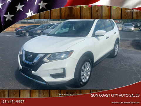 2018 Nissan Rogue for sale at Sun Coast City Auto Sales in Mobile AL