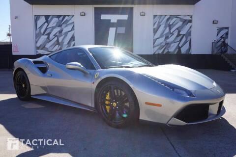 2016 Ferrari 488 GTB for sale at Tactical Fleet in Addison TX