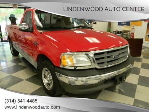 2002 Ford F-150 for sale at Lindenwood Auto Center in St.Louis MO