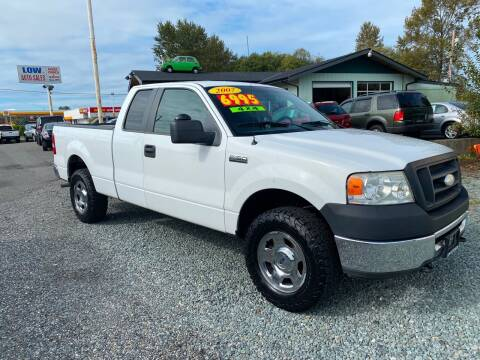 2007 Ford F-150 for sale at Low Auto Sales in Sedro Woolley WA