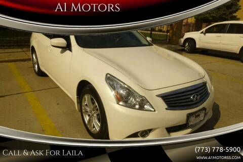 2013 Infiniti G37 Sedan for sale at A1 Motors Inc in Chicago IL
