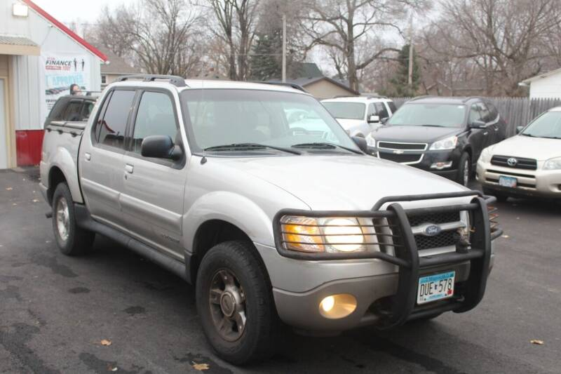 2002 Ford Explorer Sport Trac for sale at Rochester Auto Mall in Rochester MN