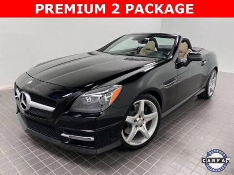 2016 Mercedes-Benz SLK for sale at CERTIFIED AUTOPLEX INC in Dallas TX