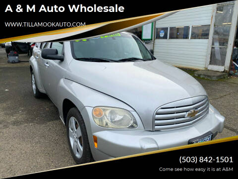2007 Chevrolet HHR for sale at A & M Auto Wholesale in Tillamook OR