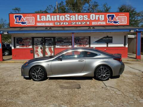 2017 Lexus RC 350 for sale at LA Auto Sales in Monroe LA
