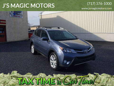 2013 Toyota RAV4 for sale at J'S MAGIC MOTORS in Lebanon PA