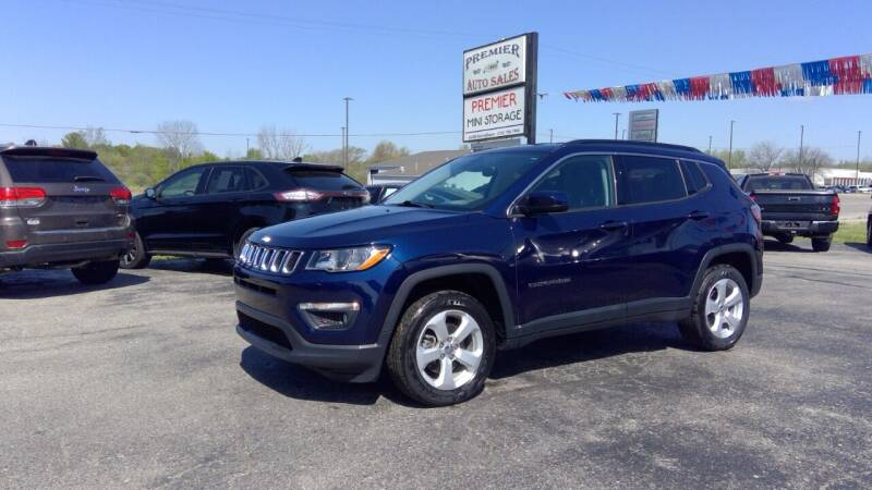 2018 Jeep Compass for sale at Premier Auto Sales Inc. in Big Rapids MI