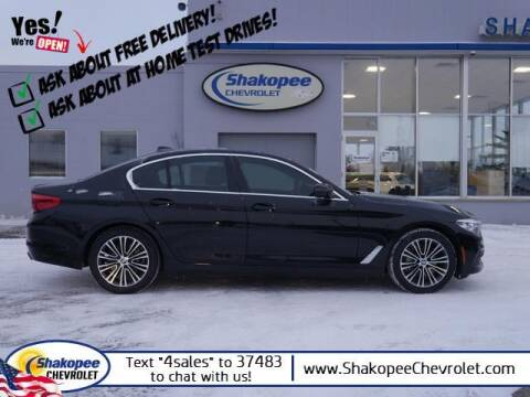2019 BMW 5 Series for sale at SHAKOPEE CHEVROLET in Shakopee MN