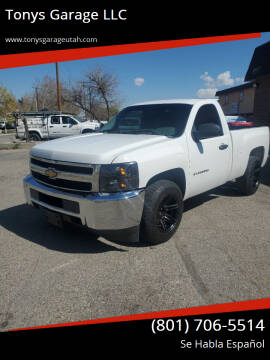 2011 Chevrolet Silverado 1500 for sale at Tonys Garage LLC in Murray UT