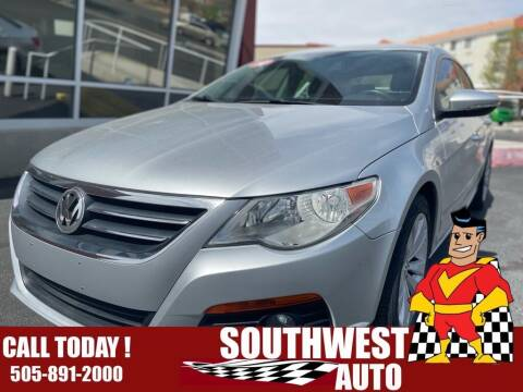 2010 Volkswagen CC for sale at SOUTHWEST AUTO in Albuquerque NM