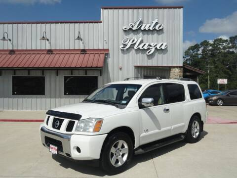 2007 Nissan Armada for sale at Grantz Auto Plaza LLC in Lumberton TX