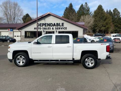 2017 Chevrolet Silverado 1500 for sale at Dependable Auto Sales and Service in Binghamton NY