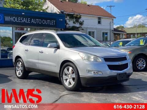 2009 Chevrolet Traverse for sale at MWS Wholesale  Auto Outlet in Grand Rapids MI