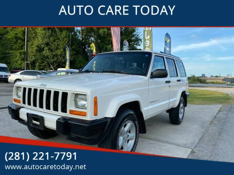 1999 Jeep Cherokee for sale at AUTO CARE TODAY in Spring TX