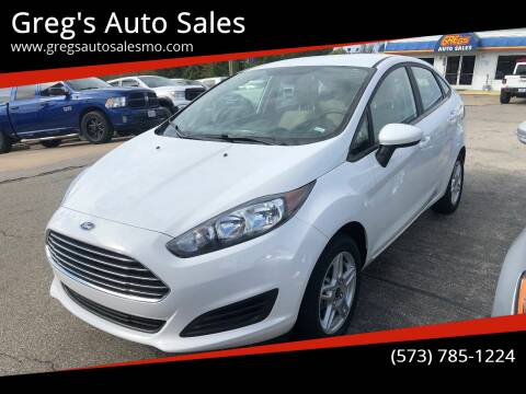 2019 Ford Fiesta for sale at Greg's Auto Sales in Poplar Bluff MO