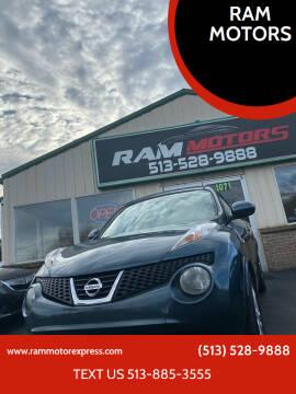 2012 Nissan JUKE for sale at RAM MOTORS in Cincinnati OH