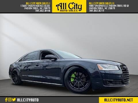 2015 Audi A8 L for sale at All City Auto Sales in Indian Trail NC