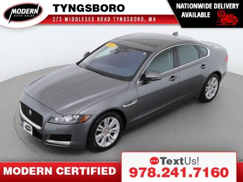 2017 Jaguar XF for sale at Modern Auto Sales in Tyngsboro MA
