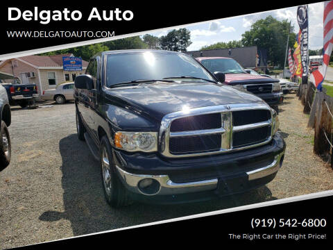 2001 Dodge Ram Pickup 1500 for sale at Delgato Auto in Pittsboro NC