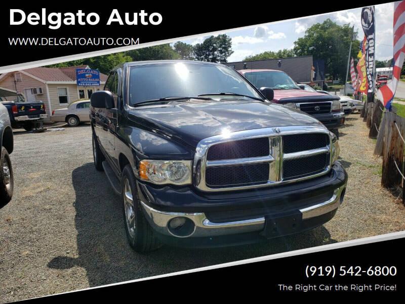 2001 Dodge Ram Pickup 1500 for sale at Delgato Auto in Pittsboro NC