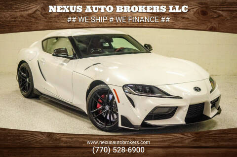 2020 Toyota GR Supra for sale at Nexus Auto Brokers LLC in Marietta GA
