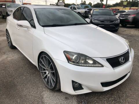 2011 Lexus IS 250 for sale at Marvin Motors in Kissimmee FL