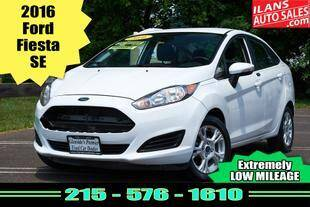 2016 Ford Fiesta for sale at Ilan's Auto Sales in Glenside PA