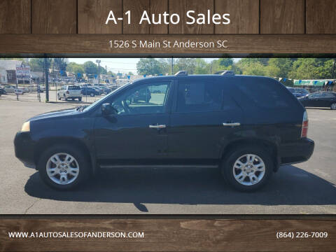 2005 Acura MDX for sale at A-1 Auto Sales in Anderson SC