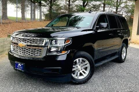 2017 Chevrolet Tahoe for sale at TRUST AUTO in Sykesville MD