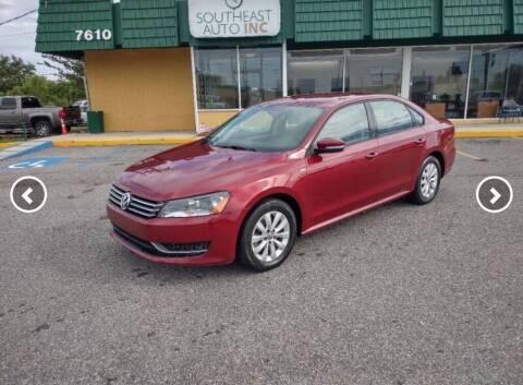 2015 Volkswagen Passat for sale at Southeast Auto Inc in Baton Rouge LA
