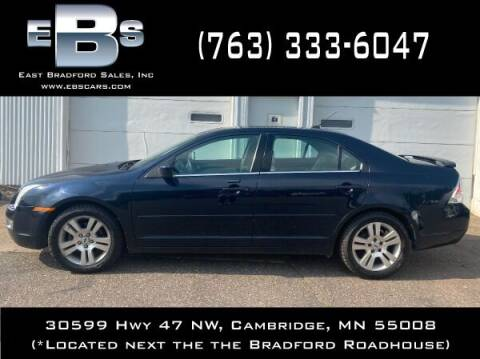 2008 Ford Fusion for sale at East Bradford Sales, Inc in Cambridge MN