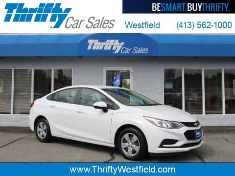 2017 Chevrolet Cruze for sale at Thrifty Car Sales Westfield in Westfield MA