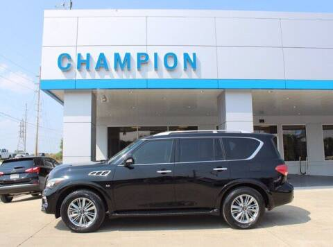 2015 Infiniti QX80 for sale at Champion Chevrolet in Athens AL