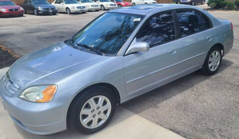 2003 Honda Civic for sale at MG Autohaus in New Caney TX