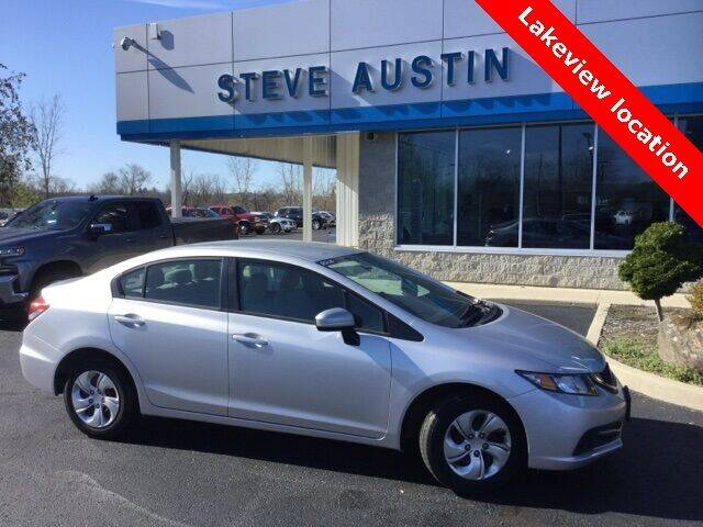 2015 Honda Civic for sale at Austins At The Lake in Lakeview OH