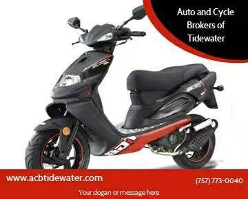 2018 TGB X RACE 50 for sale at Auto and Cycle Brokers of Tidewater in Norfolk VA