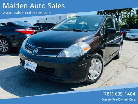 2010 Nissan Versa for sale at Malden Auto Sales in Malden MA